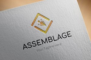 Assemblage Logo Template