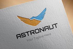 Astronaut Logo Template