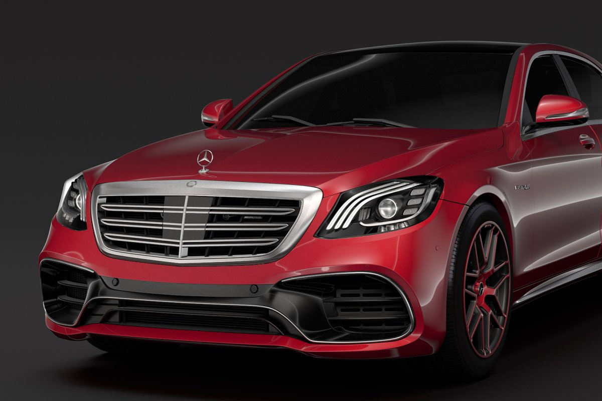 Mercedes AMG S 63 4MATIC V222 2018