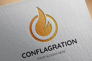 Conflagration Logo Template
