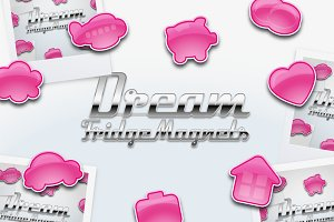 Dream Fridge Magnet style icons