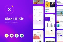 Xiao iOS UI Kit by  in UI Kits and Libraries