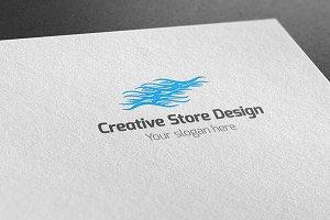 Creative Store Design Logo