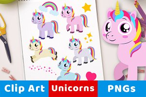 Magical Unicorn Clipart