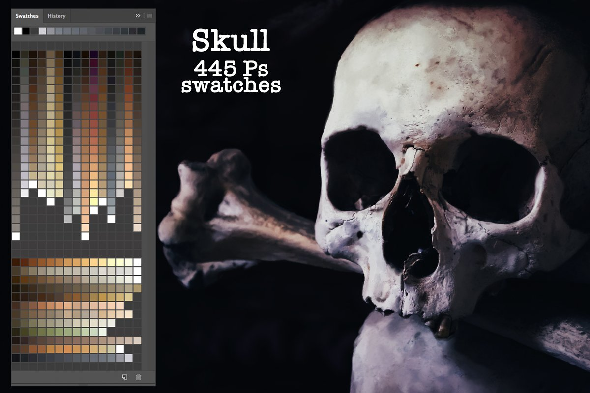 Skull Ps Swatches