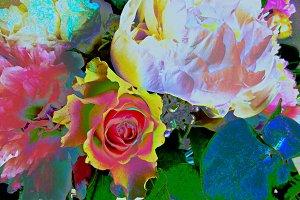 Flowers, fantasy 5