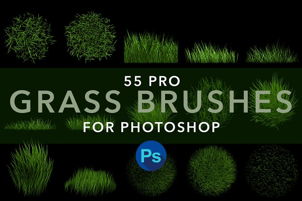 MS Grass Brushes