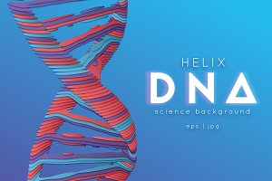 Paper cut DNA