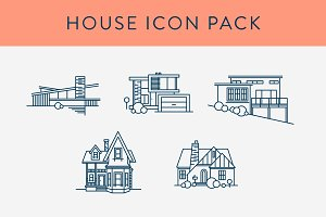 House Icon Pack