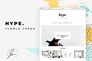 Hype Tumblr Themes