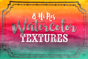 Hi Res Watercolor Textures