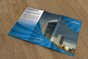 Corporate trifold brochure-T122