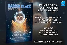 Mentalist / Psychic Poster Template
