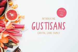 Gustisans - Font Family