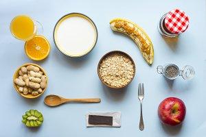 Healthy breakfast (real food)