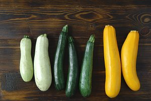 Squash and zucchini variety