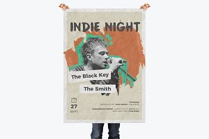 Indie Night Flyer