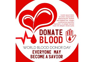 Heart and blood donation