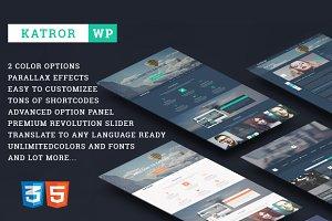 Katror| Creative WP Theme