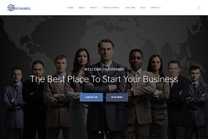 Dynamix - Corporate WordPress Theme