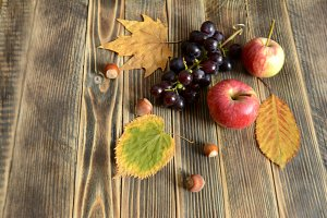 Autumn food concept