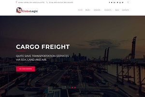 GlobaLogic Logistic WordPress Theme