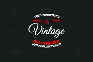 Vintage Logo Collection Round 3