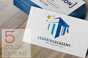 Learning Academy Logo Template