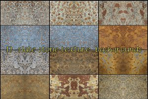 slate stone texture background nº3