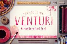 Venturi Typeface + Bonus