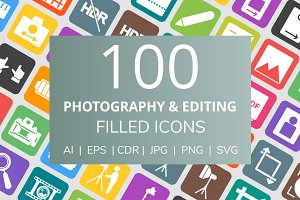 100 Photography & Picture Filed Icon
