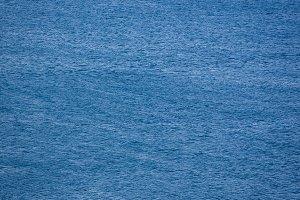 Sea surface aerial view, dark blue w