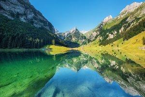 Natural Switzerland landscape