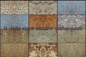 slate stone texture background nº4