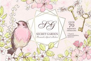 Secret Garden graphic kit
