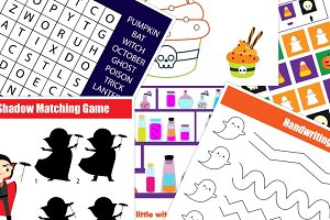 Halloween kids activities and games