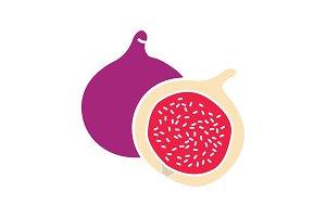 Fig glyph color icon