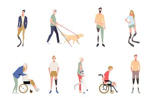 People with disabilities in the
