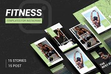 FITNESS & GYM - instagram template
