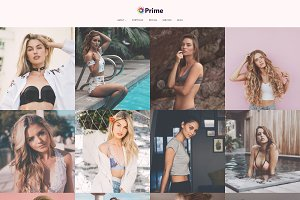 Prime - Modelling WordPress Theme
