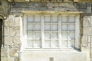 Window of french european town