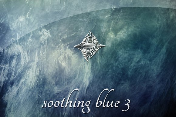 15 textures - Soothing Blue 3