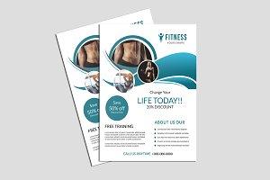 Fitness Club Flyer - V853