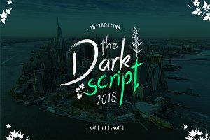 Dark Od Script Font