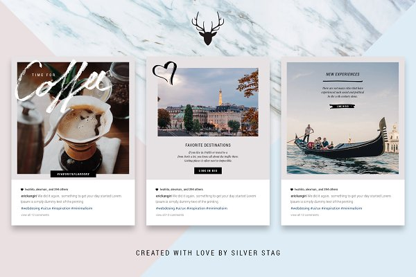 Social Media Templates - Ultimate ANIMATED Instagram Bundle