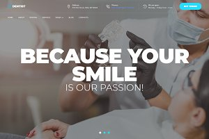 TheDentist - Dental WordPress Theme