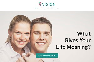 Vision - Counseling WordPress Theme