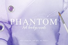 Phantom Ink Backgrounds by  in Textures