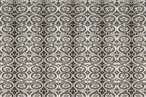 Ornate Carved Style Seamless Pattern
