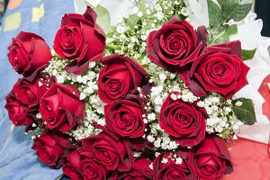 bouquet Color red roses